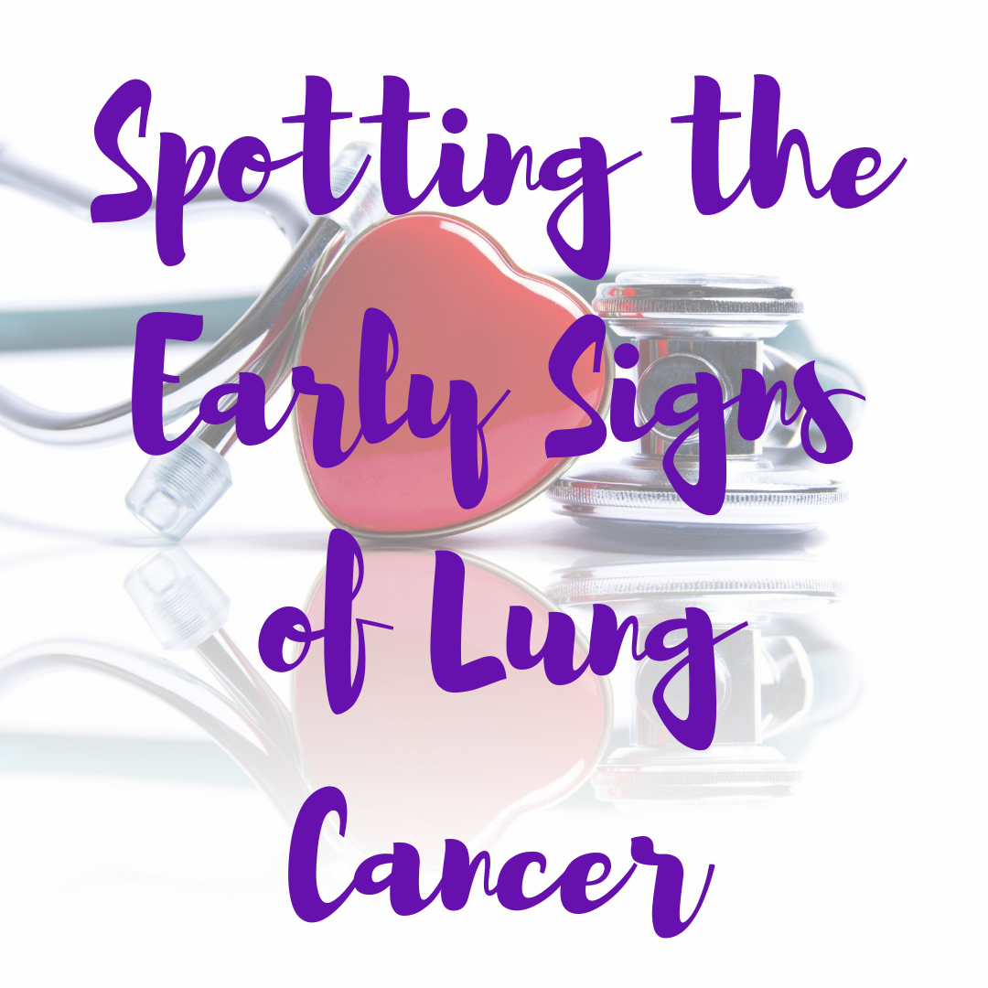 Spotting the early signs of lung cancer