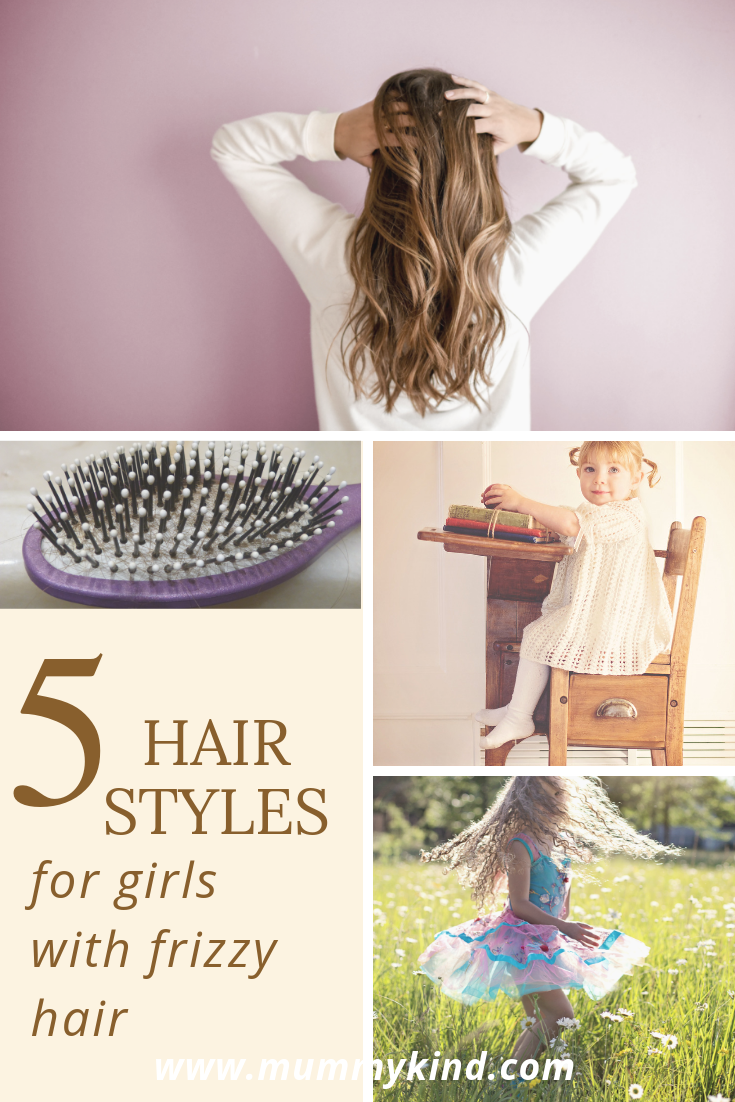 5 frizzy hairstyles