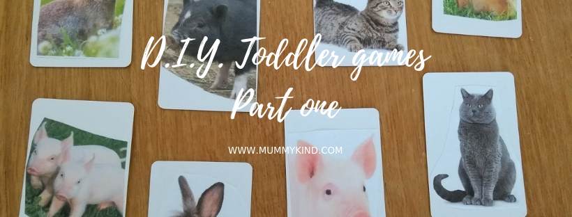 My D.I.Y. fun toddler games part 1