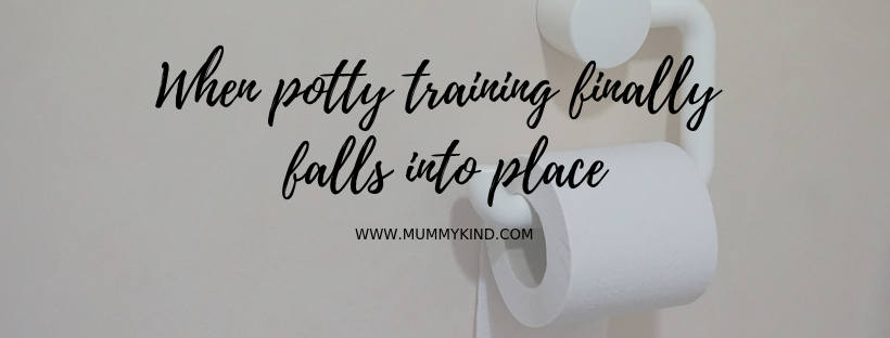 When Potty Training Finally Falls Into Place