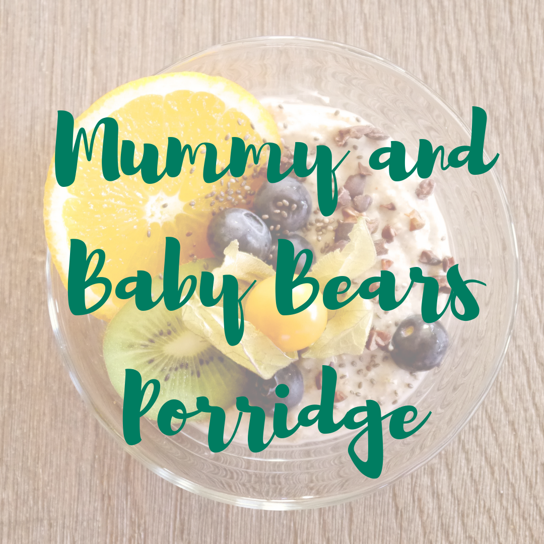 mummy and baby bears porridge