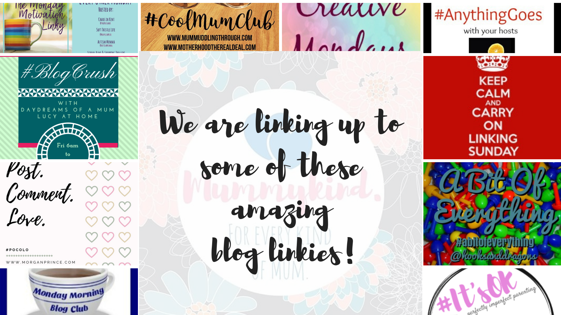 We are linking up to some of these amazing blog linkies!