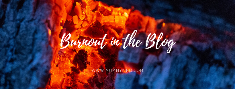 Burnout in the Blog